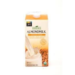whole foods almond milk